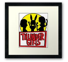 Thunder Girls are GO! Framed Print