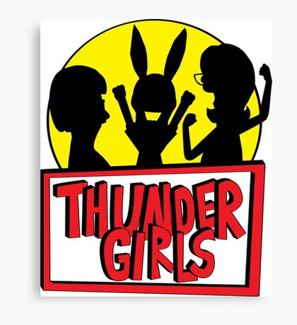 Thunder Girls are GO! Canvas Print