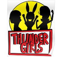 Thunder Girls are GO! Poster