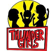 Thunder Girls are GO! Photographic Print