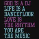 God is a DJ by Angela Millear