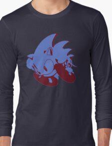 Minimalist Sonic 2 Long Sleeve T-Shirt