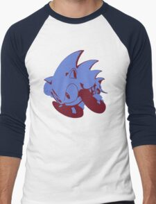 Minimalist Sonic 2 Men's Baseball ¾ T-Shirt