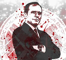 Agent Coulson by nikkiandkatie