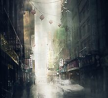 chinatown by mozsi