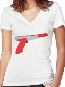 Original Gangsta Women's Fitted V-Neck T-Shirt
