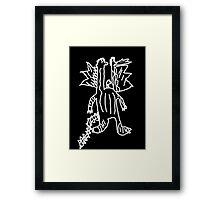 Sophie's Hydra Framed Print