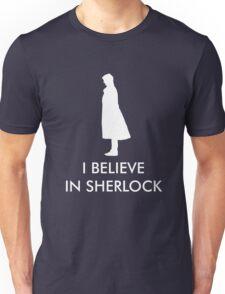 I Believe in Sherlock - Navy Unisex T-Shirt