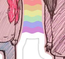 LGBTQIA Pride Bubbline Sticker