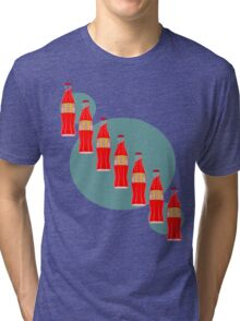 Red Pop Tri-blend T-Shirt