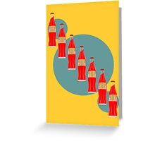 Red Pop Greeting Card