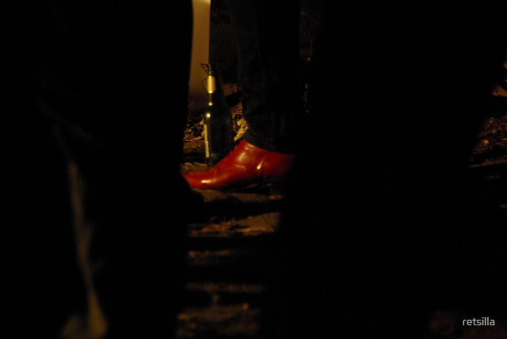 Jimmy's Shoe by retsilla