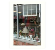Window shopping Art Print