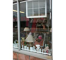 Window shopping Photographic Print