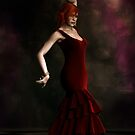 Flamenco Dancer Red by Shanina Conway