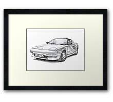 Toyota MR2 Framed Print