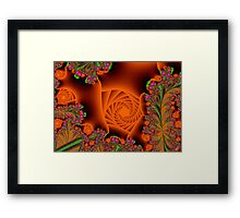 Blooming in a cave Framed Print