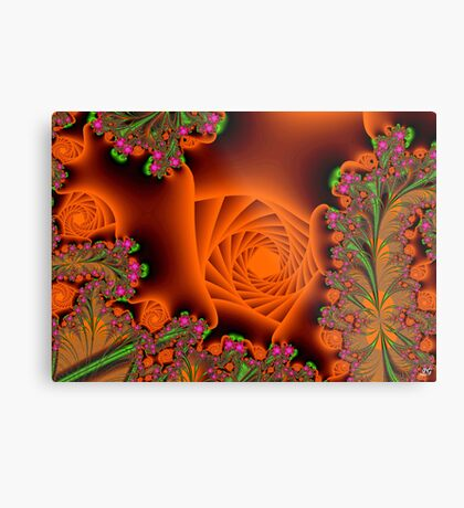 Blooming in a cave Metal Print
