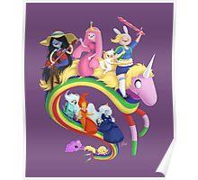 Adventure Girls Poster