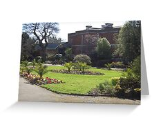 exeter gardens Greeting Card