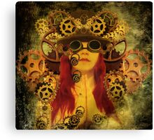 Prayers dedicated to the clockwork Canvas Print