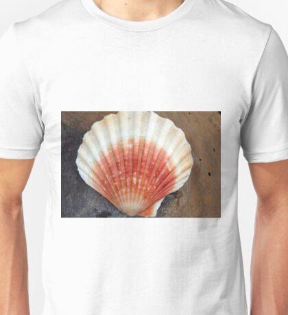 Red And White Seashell Unisex T-Shirt