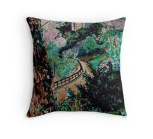 May Dell Throw Pillow