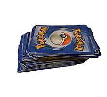 Pokemon Cards  Photographic Print