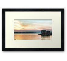 Willard Beach Sunrise Framed Print