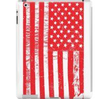 Distressed USA Flag - United States Of America iPad Case/Skin