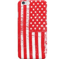 Distressed USA Flag - United States Of America iPhone Case/Skin