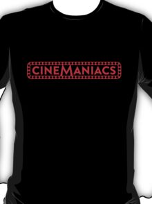 Cinemaniacs LOGO [on black] T-Shirt
