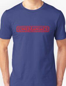 Cinemaniacs LOGO [on black] Unisex T-Shirt