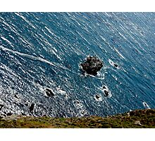 Rock In The Water Photographic Print