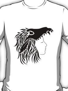 Nymeria (black & white) T-Shirt