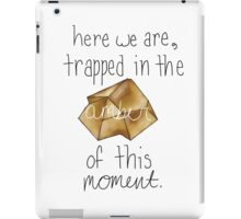 the amber of a moment iPad Case/Skin