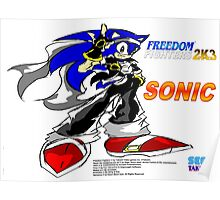Freedom Fighter 2K3 Sonic Poster