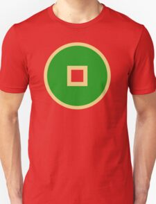Minimalist Earth Kingdom Emblem Unisex T-Shirt