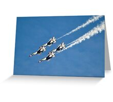 U.S. Air Force Thunderbirds Greeting Card
