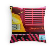 Frequent Stop @ Bars Throw Pillow