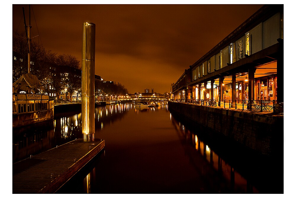 Bristol Harbour by Alan Watt