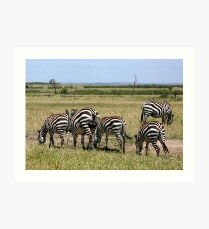 Stripes Are in This Year Art Print