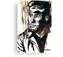 British Coal Miner Canvas Print
