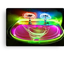 painted with light Canvas Print