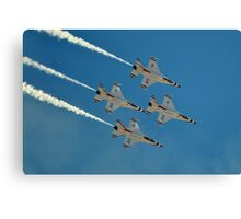 U.S. Air Force Thunderbirds Canvas Print