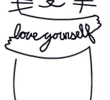 Love Yourself Kitty by Bayleecardwell
