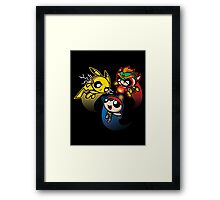 Super Puff Bros 4 Framed Print