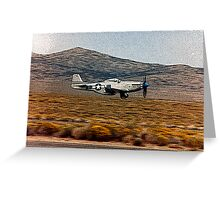 LANDING GEAR GOING UP Greeting Card