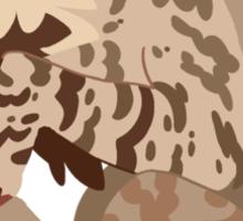 Striped Hyena Sticker