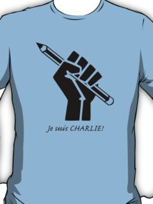 """""""Je suis CHARLIE!""""....French solidarity! T-Shirt"""